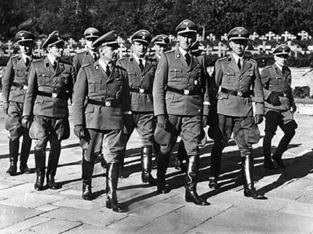 heinrich20mc3bcller20with20reinhard20heydrich20and20gestapo20officers