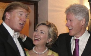trump-clinton-wedding